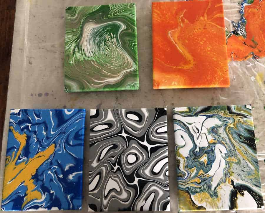 5 Acrylic Pour Techniques to Master - Large