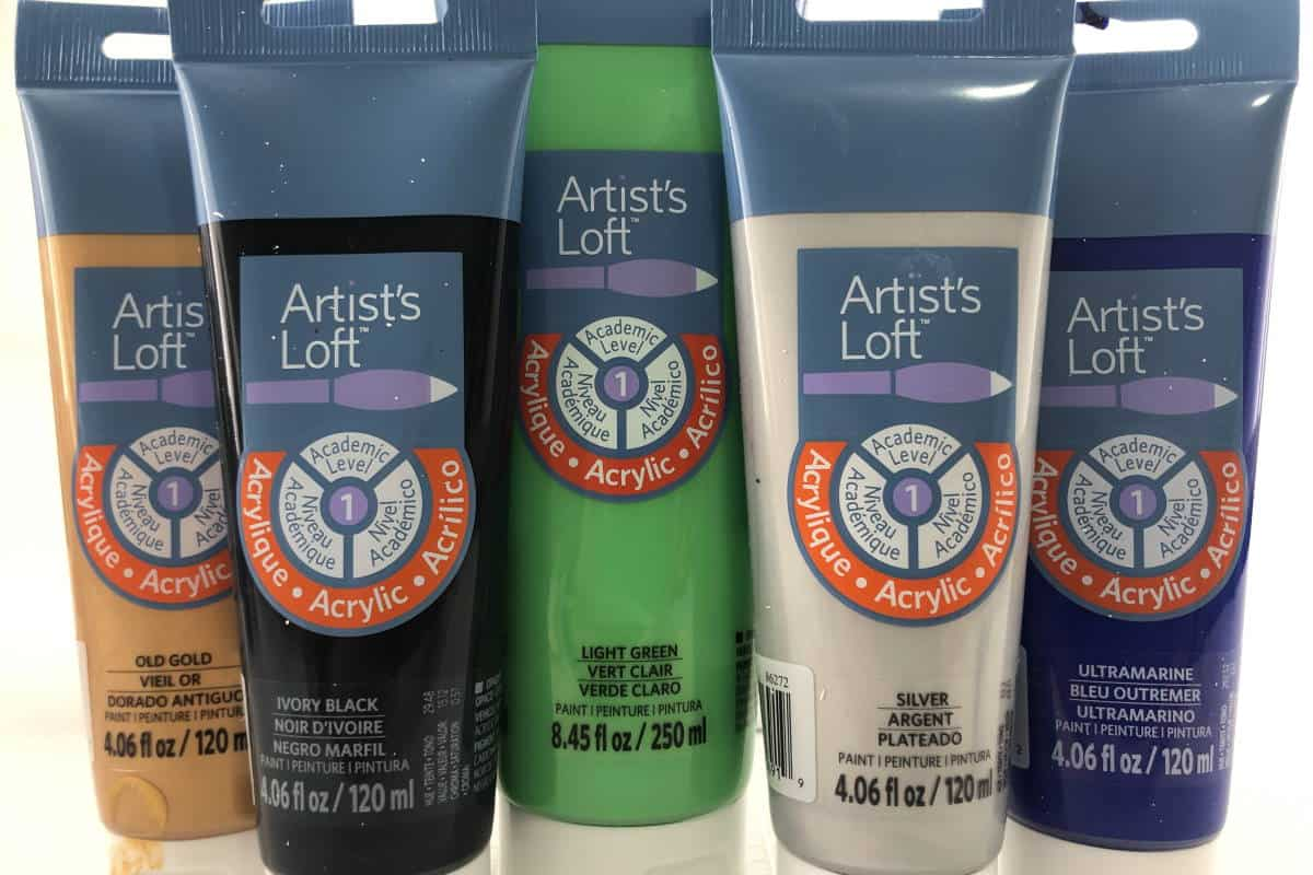 Artists Loft Paint Used for Pouring